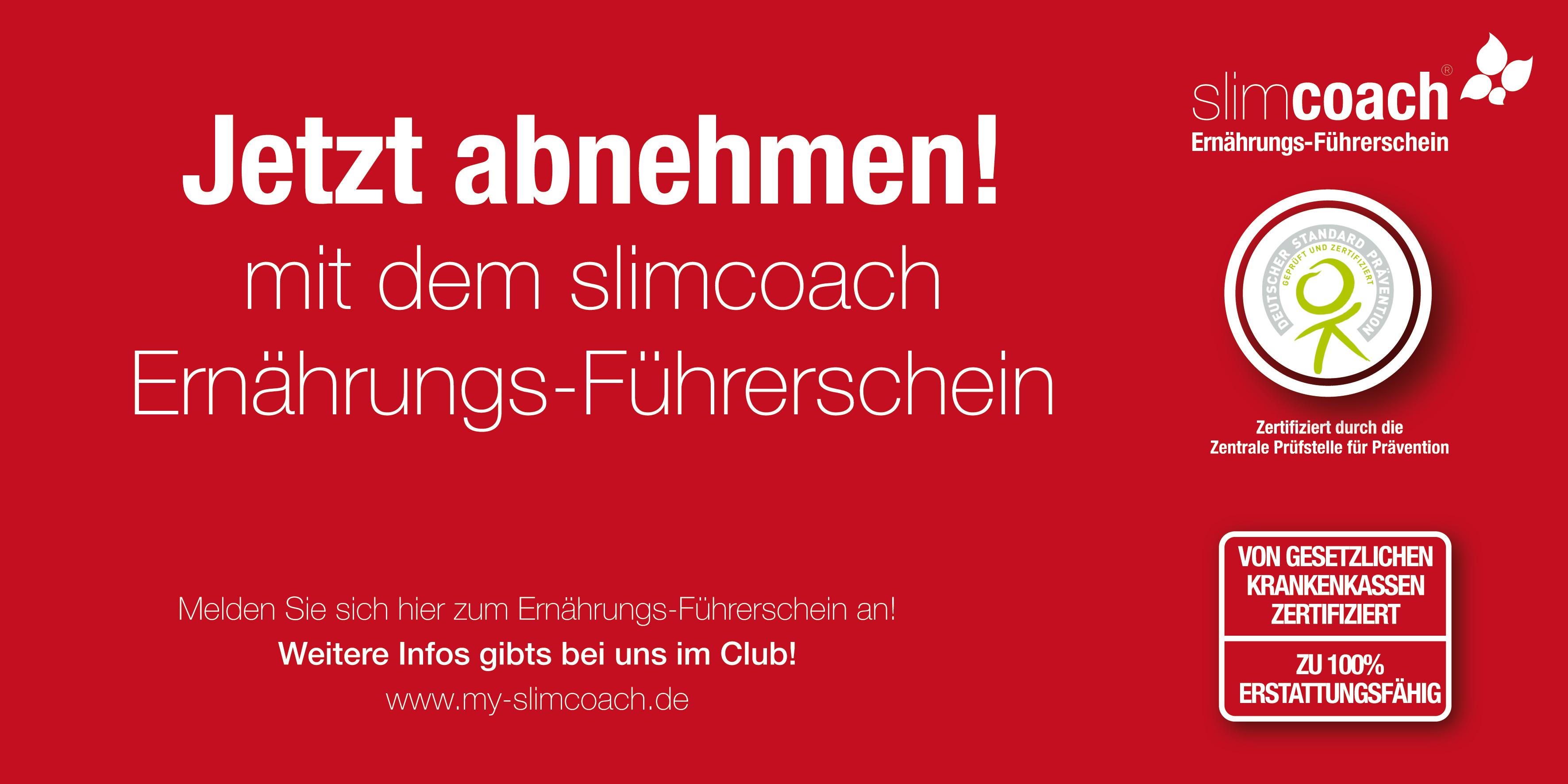 Slim Coach – Ihr Ernährungsführerschein!